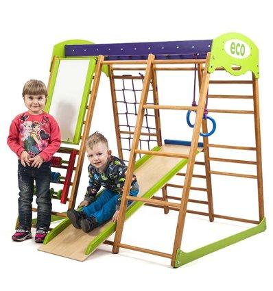 Детский спортивный комплекс для дома SportBaby Карамелька