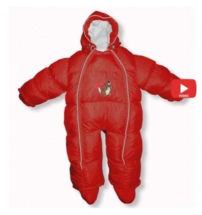 Комбинезон трансформер Ontario Baby Walk (от +10°C до -20°C) красный 334