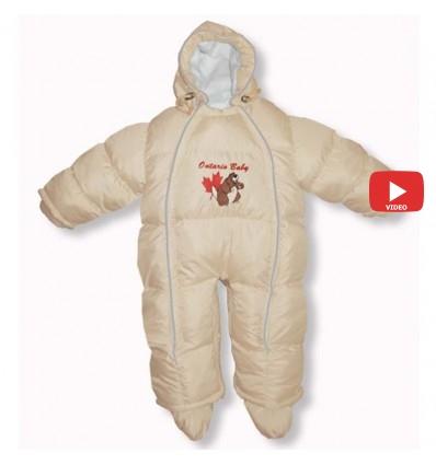 Комбинезон трансформер Ontario Baby Walk (от +10°C до -20°C) бежевый 336