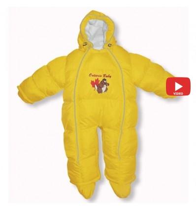 Комбинезон трансформер Ontario Baby Walk (от +10°C до -20°C) желтый 337
