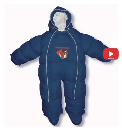Комбинезон трансформер Ontario Baby Walk (от +10°C до -20°C) синий 341