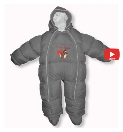 Комбинезон трансформер Ontario Baby Walk (от +10°C до -20°C) серый 342