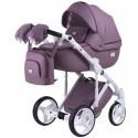 Детская коляска 2 в 1 Adamex Luciano Q-115 эко-кожа