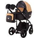 Детская коляска 2 в 1 Adamex Luciano Q-254 эко-кожа