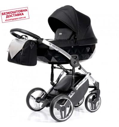 Детская коляска 2 в 1 Tako Junama Onyx 01 Silver