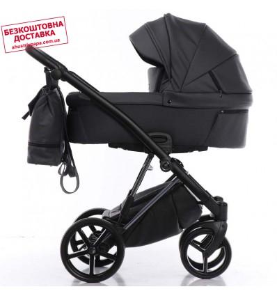 Детская коляска 2 в 1 Tako Artemo 05 Graphite Эко-кожа