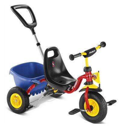 Трехколесный велосипед Puky CAT 1L красный