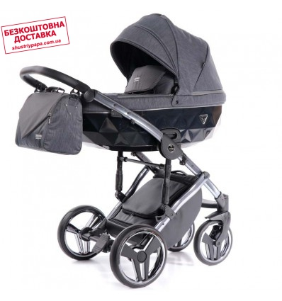 Детская коляска 2 в 1 Tako Junama Saphire 02 Grey-Silver