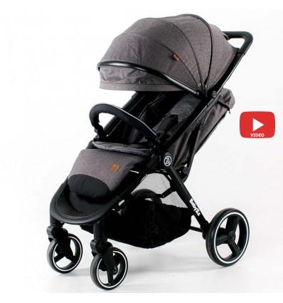 Детская прогулочная коляска BabyZz B100 серая