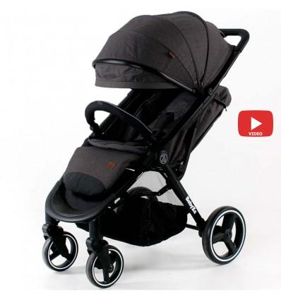 Детская прогулочная коляска BabyZz B100 графитовая