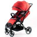 Детская прогулочная коляска BabyZz B100 красная
