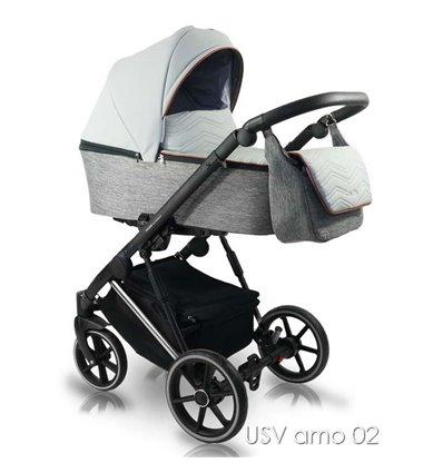 Детская коляска 2 в 1 Bexa Ultra Style V USV AMO 02