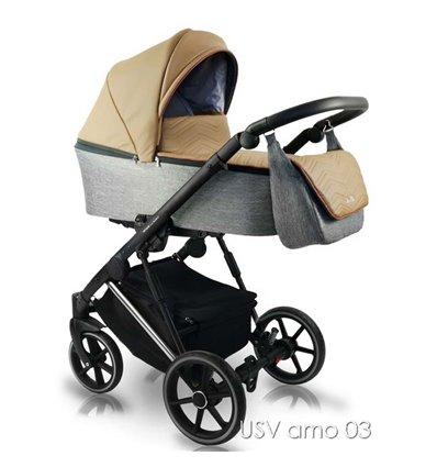 Детская коляска 2 в 1 Bexa Ultra Style V USV AMO 03