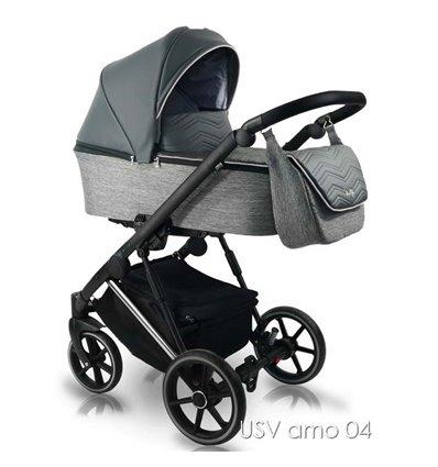 Детская коляска 2 в 1 Bexa Ultra Style V USV AMO 04