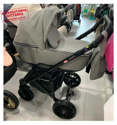 Детская коляска 2 в 1 Broco Smart Light Grey
