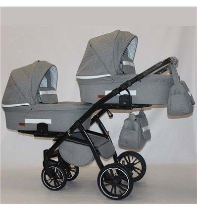 Универсальная коляска для двойни Natigo Frido Duo NFD-01