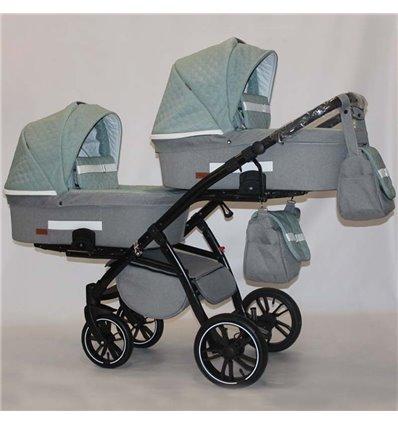 Универсальная коляска для двойни Natigo Frido Duo NFD-03