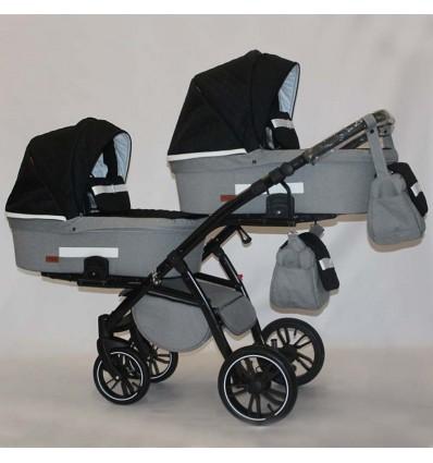 Универсальная коляска для двойни Natigo Frido Duo NFD-04