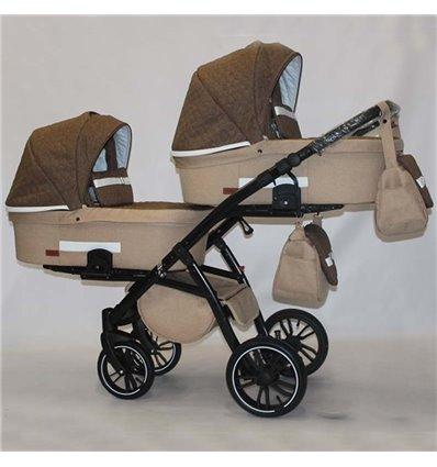Универсальная коляска для двойни Natigo Frido Duo NFD-07