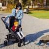 Детская прогулочная коляска 4Baby Moody 2020 черная