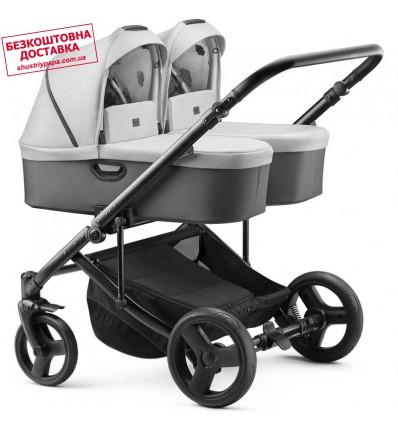 Универсальная коляска для двойни Jedo Fyn Duo 21