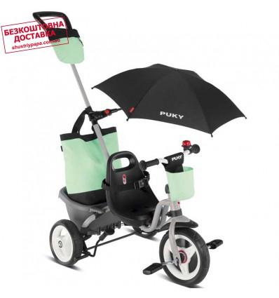 Велосипед трехколесный Puky Ceety Comfort зеленый