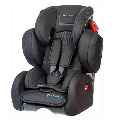 Автокресло детское BabySafe Husky black, 9-36 кг