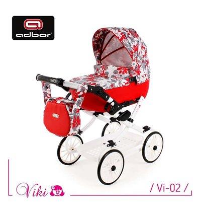 Коляска для куклы Adbor Viki Vi-02
