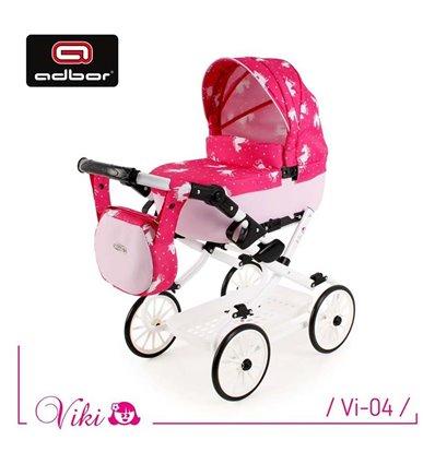 Коляска для куклы Adbor Viki Vi-04