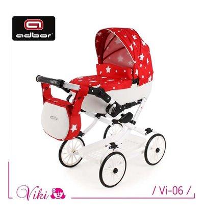 Коляска для куклы Adbor Viki Vi-06