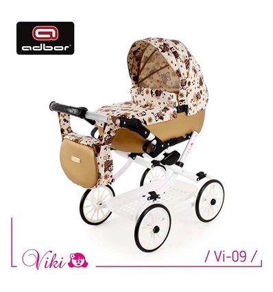 Коляска для куклы Adbor Viki Vi-09