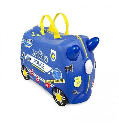 Чемодан детский Trunki Percy Police Car