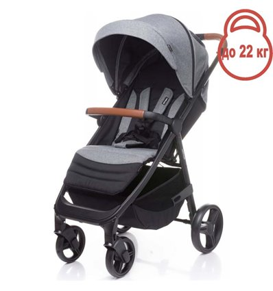 Детская прогулочная коляска 4Baby Stinger Grey