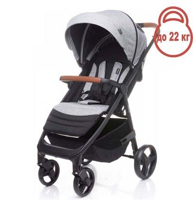 Детская прогулочная коляска 4Baby Stinger Light Grey