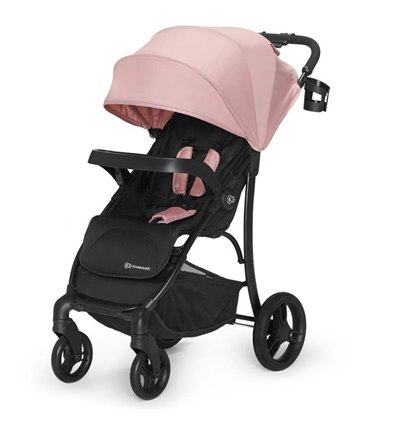 Детская прогулочная коляска Kinderkraft Cruiser Pink
