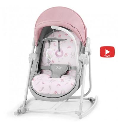 Шезлонг 5 в 1 Kinderkraft Unimo pink