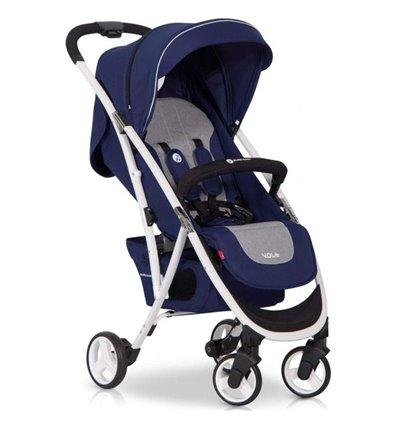 Детская прогулочная коляска Euro-Cart Volt Denim