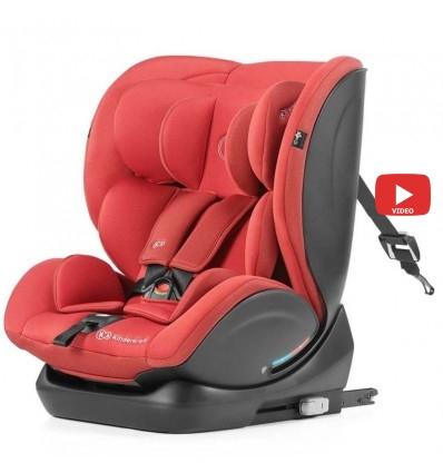 Автокресло детское Kinderkraft Myway Isofix red, 0-36 кг
