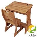 Комплект парта і крісло Mobler Растішка, ширина 70 см