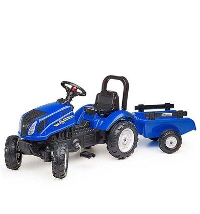 Трактор педальный с прицепом Falk 3080AB New Holland