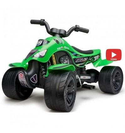 Квадроцикл педальный Falk 609BR Bud Racing зеленый