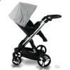 Детская коляска 2 в 1 ibebe i-stop серая хром