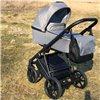 Детская коляска 2 в 1 Baby Drive Classic темно серая