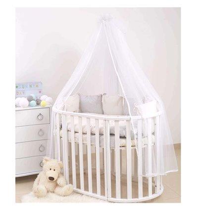 Детский постельный комплект Twins Dolce 6 эл. D-317 Nice Day бежевый