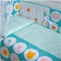 Детский постельный комплект Twins Eco Line 6 эл. E-021 Animals Mint