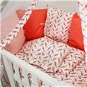 Детский постельный комплект Twins Dolce 8 эл. DB-405 Птички Coral