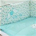 Детский постельный комплект Twins Evo 8 эл. A-042 Angel Baby Mint