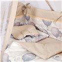 Детский постельный комплект Twins Modern 8 эл. P-112 Воздушный шар Beige