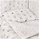 Детский постельный комплект Twins Premium Glamour 8 эл. TG-08R Rabbits Pink