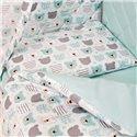 Детский постельный комплект Twins Premium Glamour 8 эл. TG-14B Bear Mint